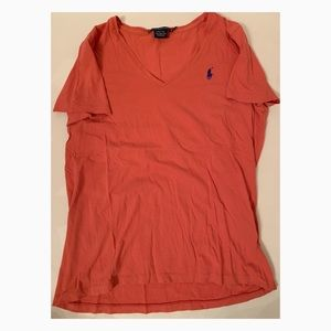 Used Women Ralph Lauren Sport Tee - Size Large